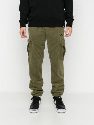 Nike SB Novelty Cargo Pants (medium olive/electro orange/black)