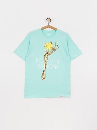 Diamond Supply Co. Heart Of Tee T-shirt (diamond blue)