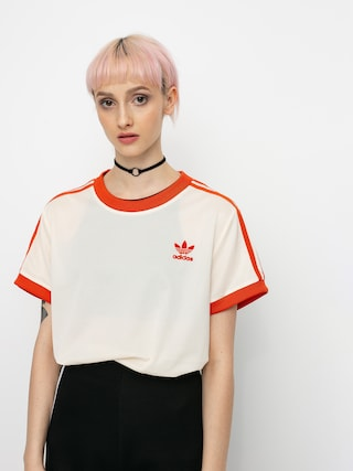 adidas Originals 3 Stripes T-shirt Wmn (ecrtin)