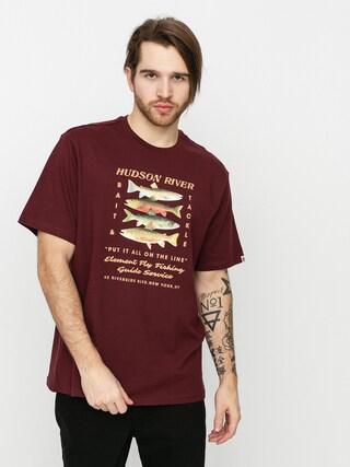 Element Caddis T-shirt (vintage red)