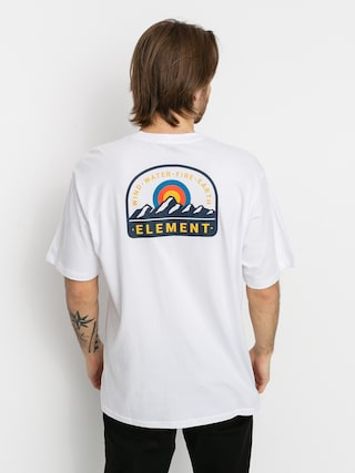 Element Stahl T-shirt (optic white)