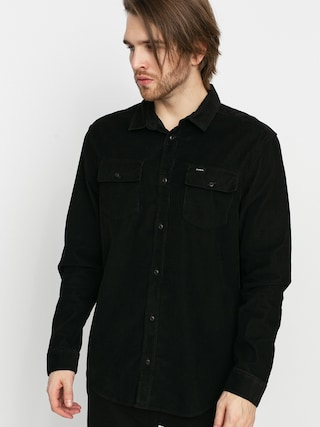 RVCA Freeman Cord Ls Shirt (black)
