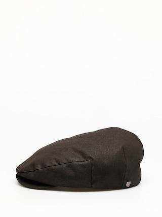 Brixton Hooligan Reserve Snap Cap Flat cap (washed black)