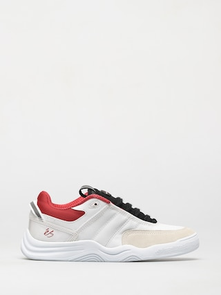 eS Evant Shoes (white/black/red)
