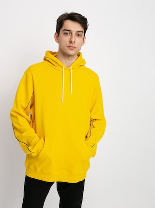 Diamond Supply Co. Checkered Cross HD Hoodie (yellow)