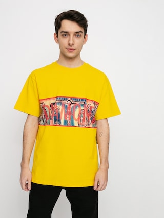 Diamond Supply Co. Icons Panel T-shirt (yellow)