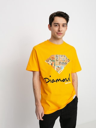 Diamond Supply Co. Ethiopian Diamond T-shirt (gold)