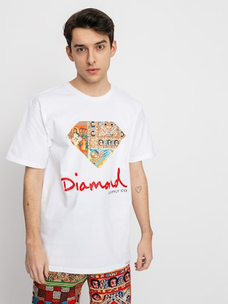 Diamond Supply Co. Ethiopian Diamond T-shirt (white)