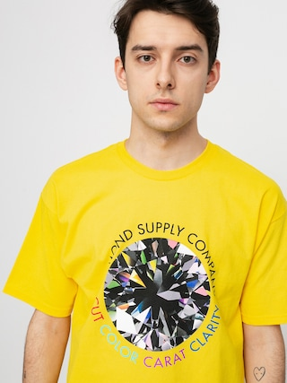 Diamond Supply Co. Clarity T-shirt (yellow)