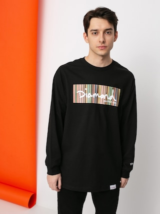 Diamond Supply Co. Color Ply Box Longsleeve (black)