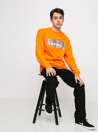Diamond Supply Co. Color Ply Box Longsleeve (orange)
