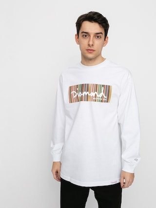 Diamond Supply Co. Color Ply Box Longsleeve (white)
