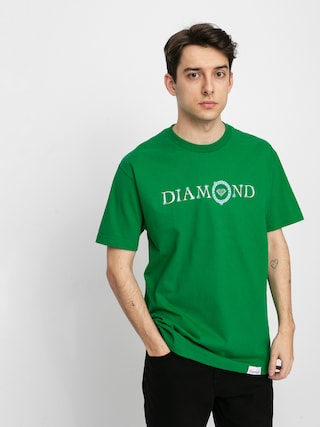 Diamond Supply Co. Pendant T-shirt (forest green)
