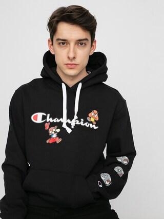 Champion X Nintendo Sweatshirt HD Hoodie (nbk)