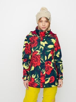 Burton Jet Set Snowboard jacket Wmn (hibiscus pink oversized floral)