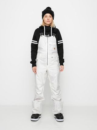 Volcom Swift Bib Overall Snowboard pants Wmn (bone snake)