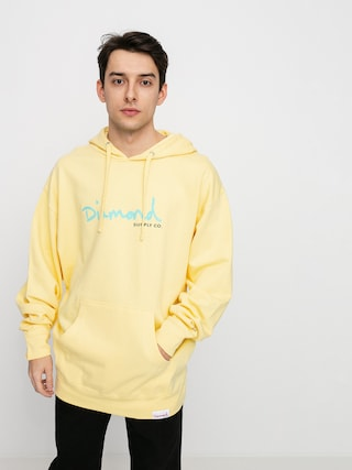 Diamond Supply Co. Og Script HD Hoodie (banana)