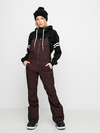 Volcom Swift Bib Overall Snowboard pants Wmn (black red)