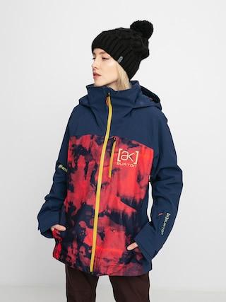 Burton Ak Gore Tex 2L Embark Snowboard jacket Wmn (hibiscus pink cloud marble/dress blue)