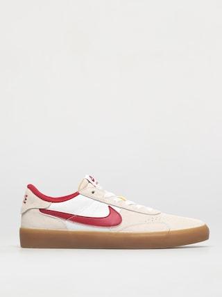 Nike SB Heritage Vulc Shoes (summit white/cardinal red white)