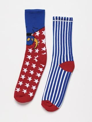Toy Machine American Monster Socks (blue)