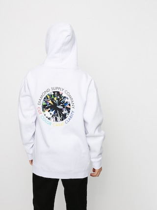 Diamond Supply Co. Clarity HD Hoodie (white)