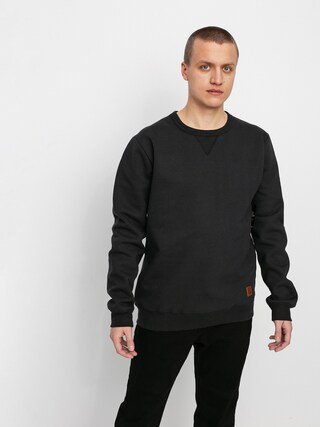 Brixton Longman II Reserve Crew Sweatshirt (black)