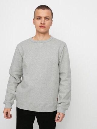 Brixton Longman II Reserve Crew Sweatshirt (heather grey)