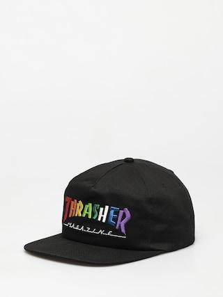 Thrasher Rainbow Mag Snapback ZD Cap (black)
