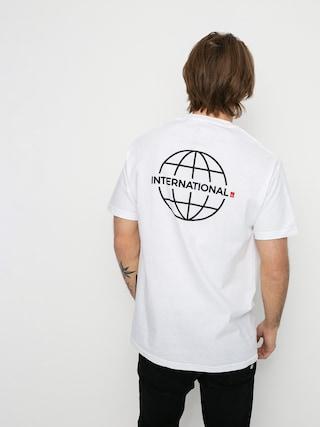 eS Grid Globe T-shirt (white)