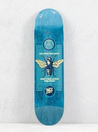 Mob Skateboards Bee Deck (teal)