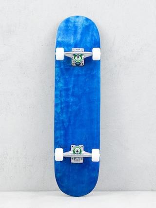 Minilogo Chevron Detonator 15 Skateboard (dyed blue)