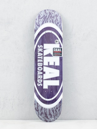 Real Oval Pearl Patterns Deck (purple)
