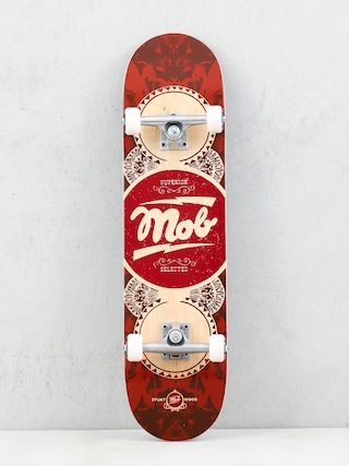 Mob Skateboards Gold Label Skateboard (cardinal)