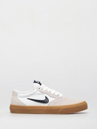 Nike SB Chron Solarsoft Shoes (white/obsidian white white)