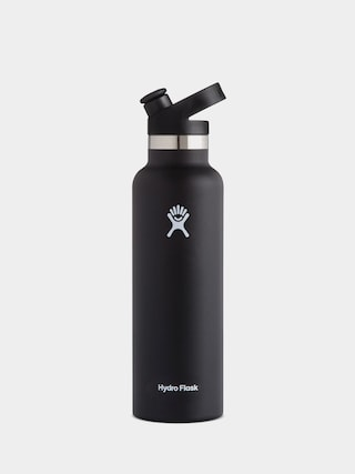 Hydro Flask bottle Standard Mouth Sport Cap 621ml (black)
