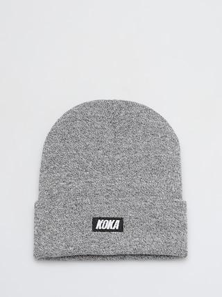 Koka Boxlogo Beanie (grey)