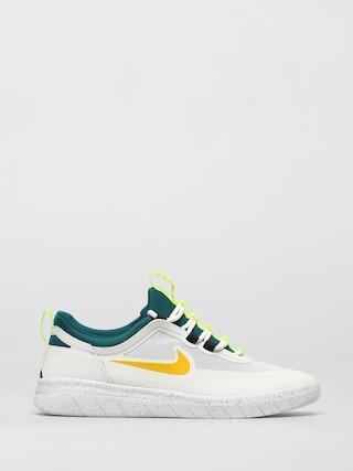 Nike SB Nyjah Free 2 Shoes (summit white/university gold geode teal)