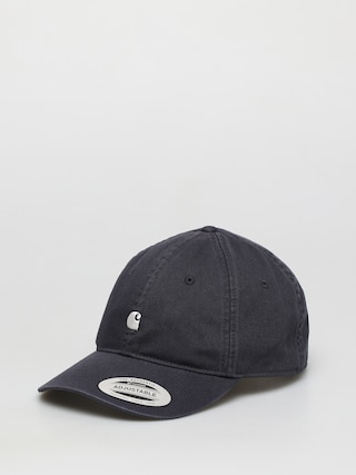 Carhartt WIP Madison Logo ZD Cap (dark navy/wax)