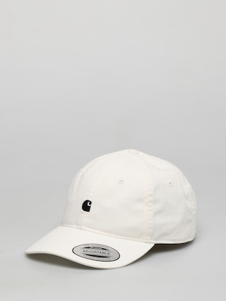 Carhartt WIP Madison Logo ZD Cap (white/black)