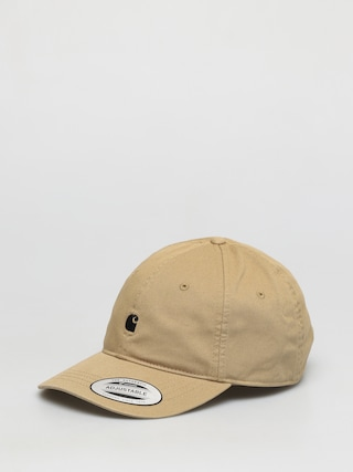 Carhartt WIP Madison Logo ZD Cap (leather/black)