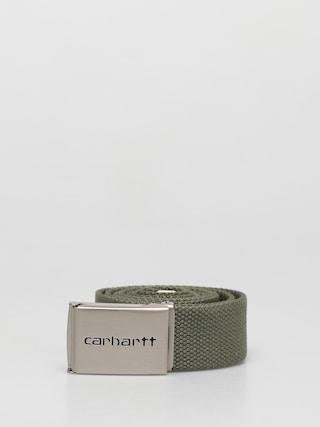 Carhartt WIP Clip Chrome Belt (dollar green)