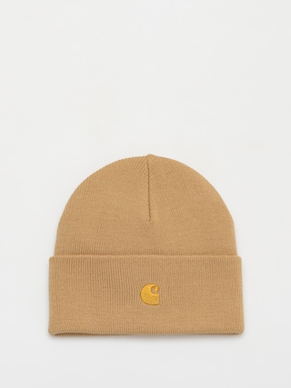 Carhartt WIP Chase Beanie (dusty h brown/gold)