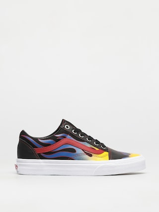 Vans Old Skool Shoes (racer black/red)