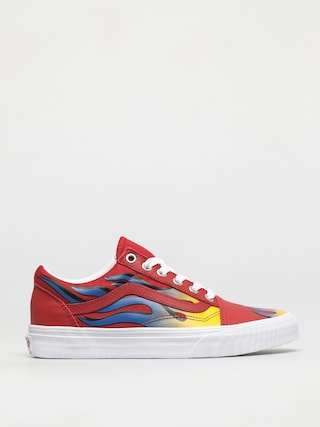Vans Old Skool Shoes (racer red/true blue)