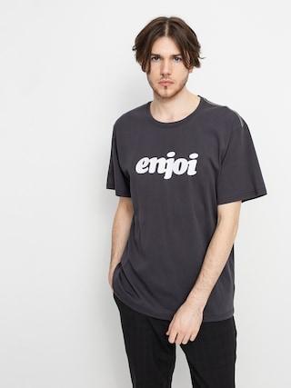 Enjoi Flocked Premium T-shirt (vintage black)