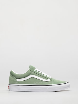 Vans Old Skool Shoes (shale green/true white)