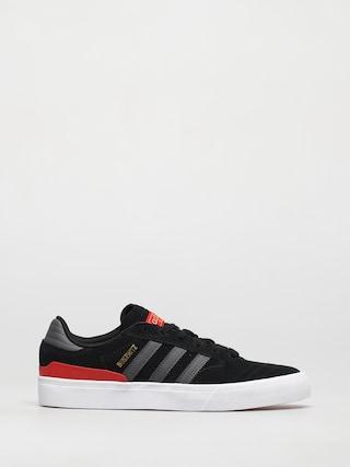 adidas Busenitz Vulc II Shoes (cblack/dgsogr/vivred)
