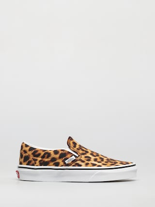 Vans Classic Slip On Shoes (leopard black/true white)