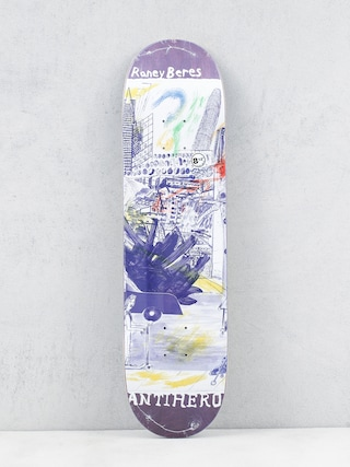 Antihero Raney Sf Then And Now Deck (purple)